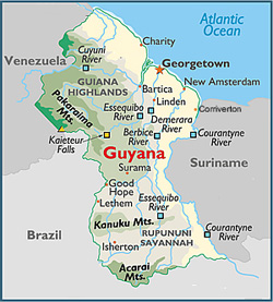 Guyanese outreach making a difference in guyana map2g gumiabroncs Choice Image